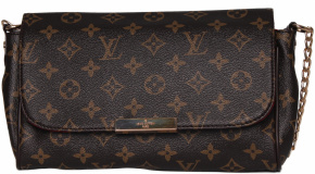 Клатч  LOUIS VUITTON 58036 корич 6284-1-55