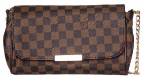 Клатч  LOUIS VUITTON 58036 корич 6283-55