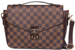 Клатч LOUIS VUITTON 58037 корич 6280-55