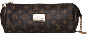 Клатч  LOUIS VUITTON 58038 корич 6285-55